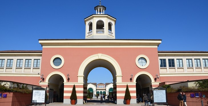 Fashion Outlet Villages i Italien